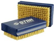 Star fibre brush